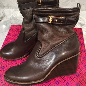 Tory Burch Lined Wedge Bootie